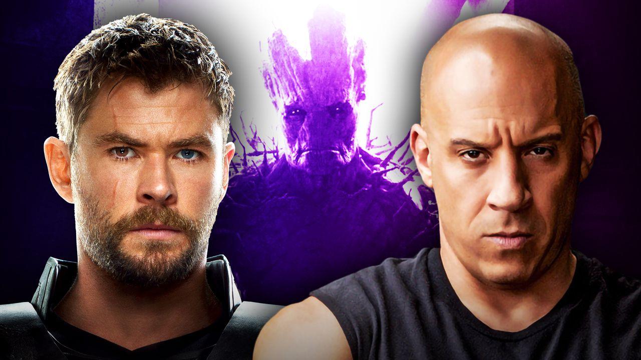 Thor, Groot, Vin Diesel