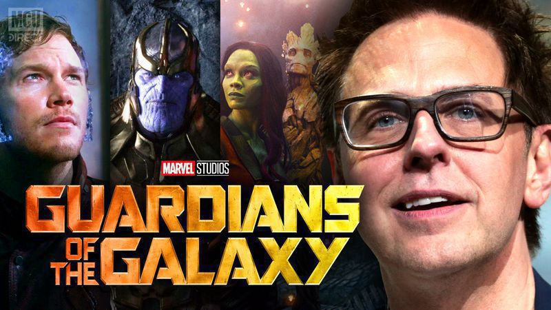 James Gunn Tweets Revealing Details about Guardians Of The Galaxy