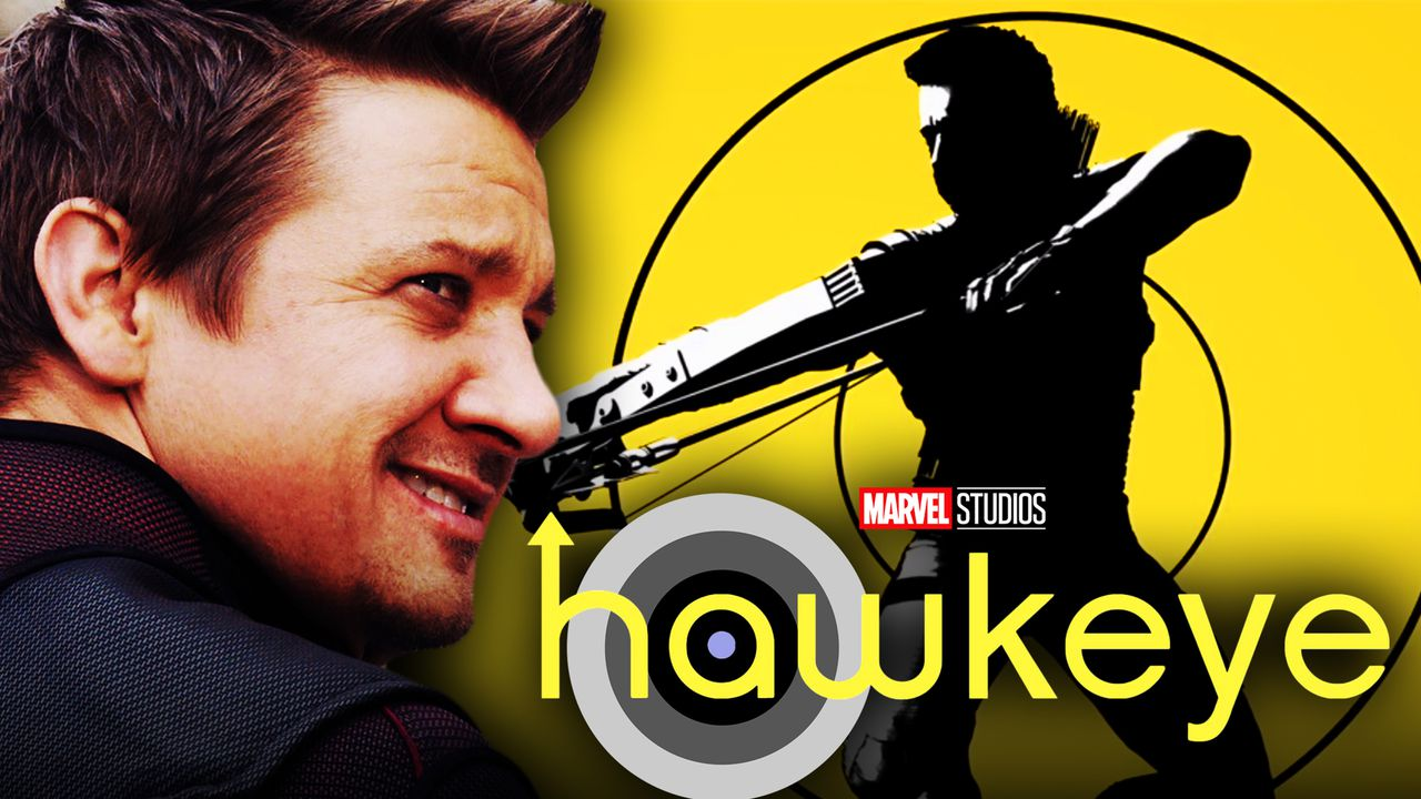 Jeremy Renner's Hawkeye