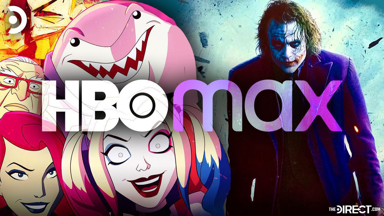 HBO Max Logo, Harley Quinn Animated Series, Joker from The Dark Knight