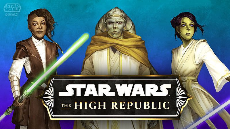 new characters and jedi of The high republic series