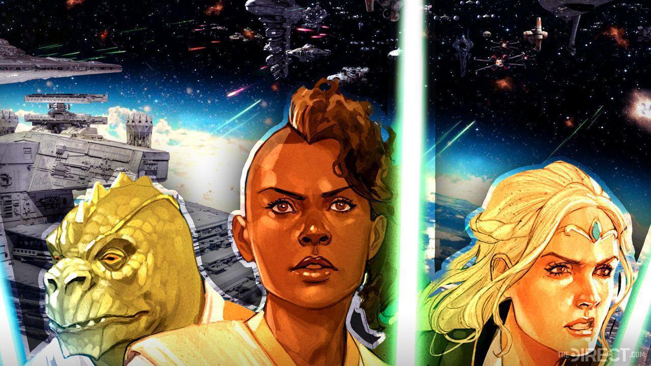 High Republic Comic Preview, Sskeer, Avar Kriss, Keeve Trennis