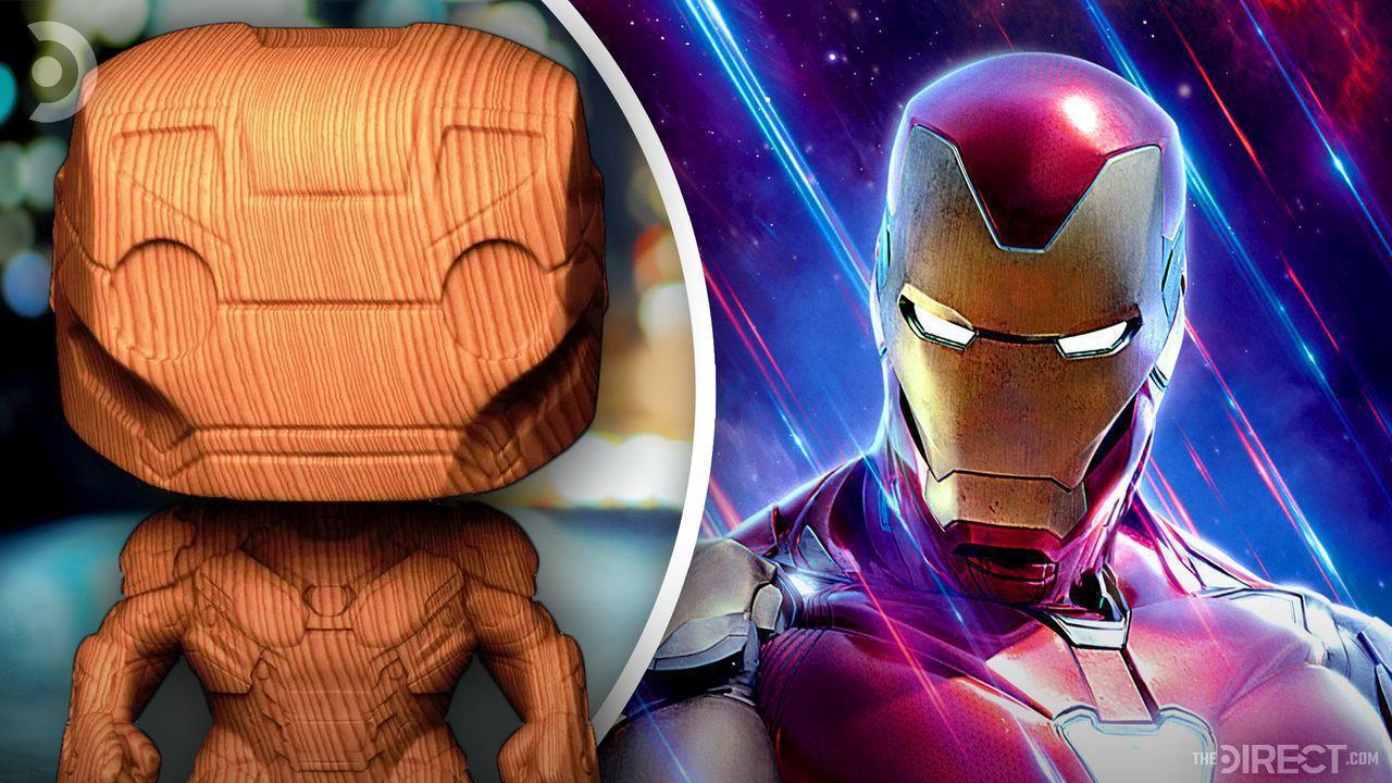Wooden Iron Man Figurine, MCU Iron Man