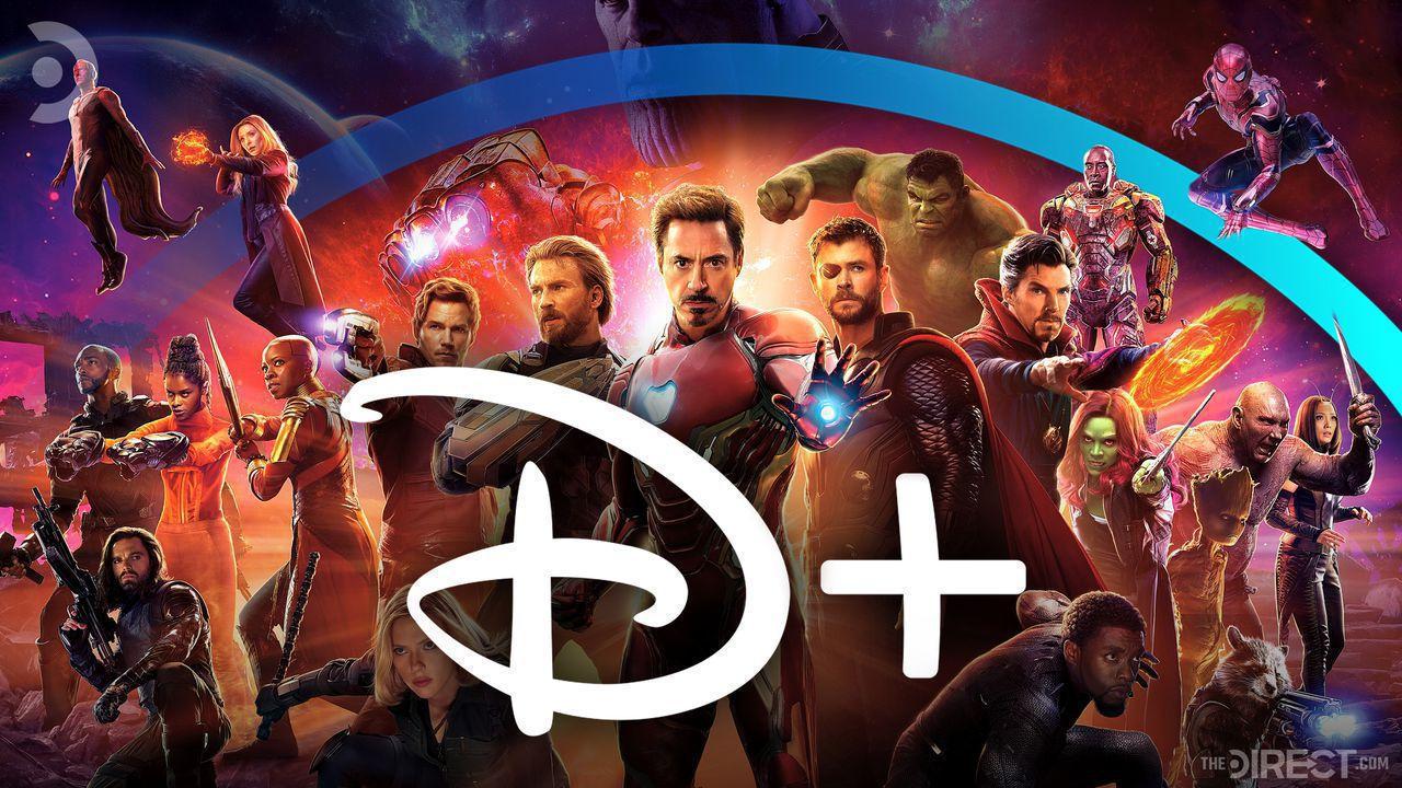 Avengers Infinity War Poster, Disney+ Logo