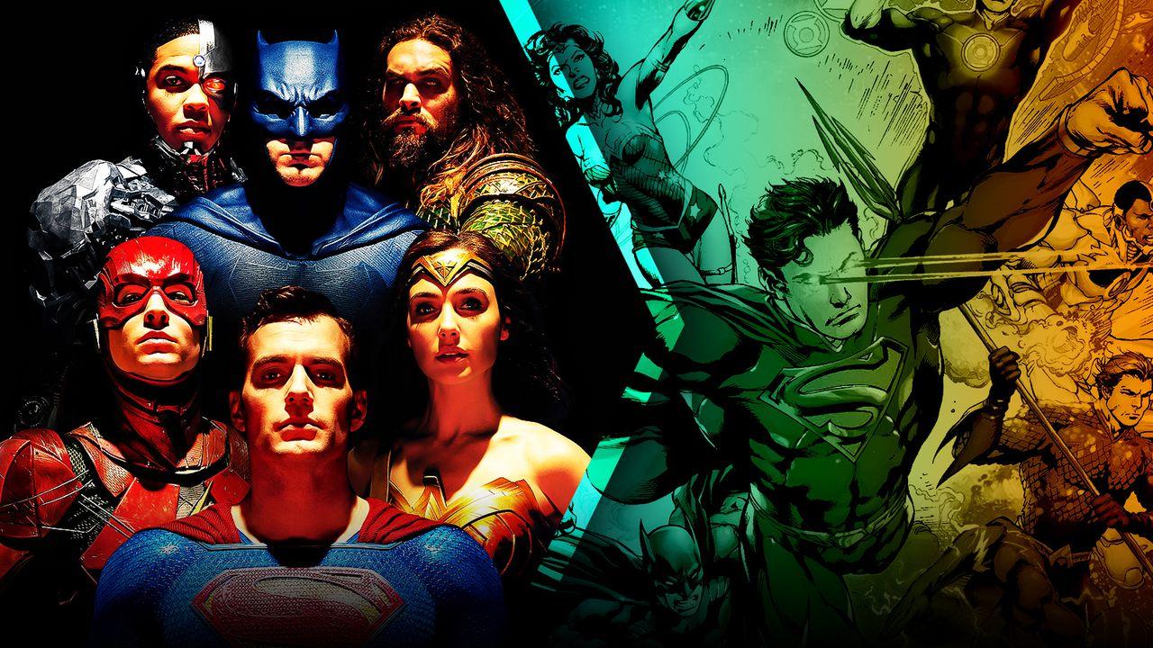 Justice League team, DC comics