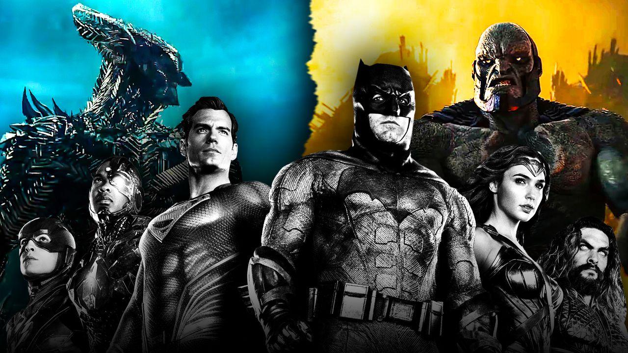 Steppenwolf vs Darkseid Justice League