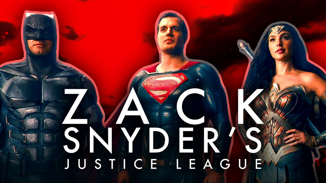 Wonder Woman, Batman, Superman, Zack Snyder's Justice League Logo