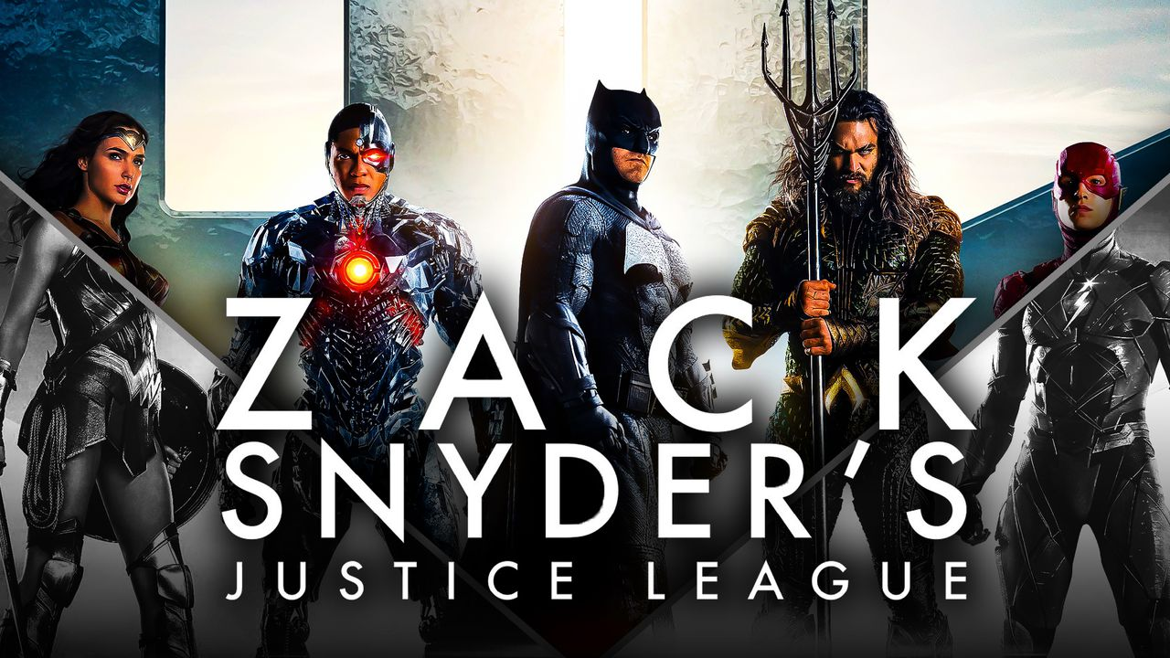 Wonder Woman, Cyborg, Batman, Aquaman and The Flash in Zack Snyder's Justice League
