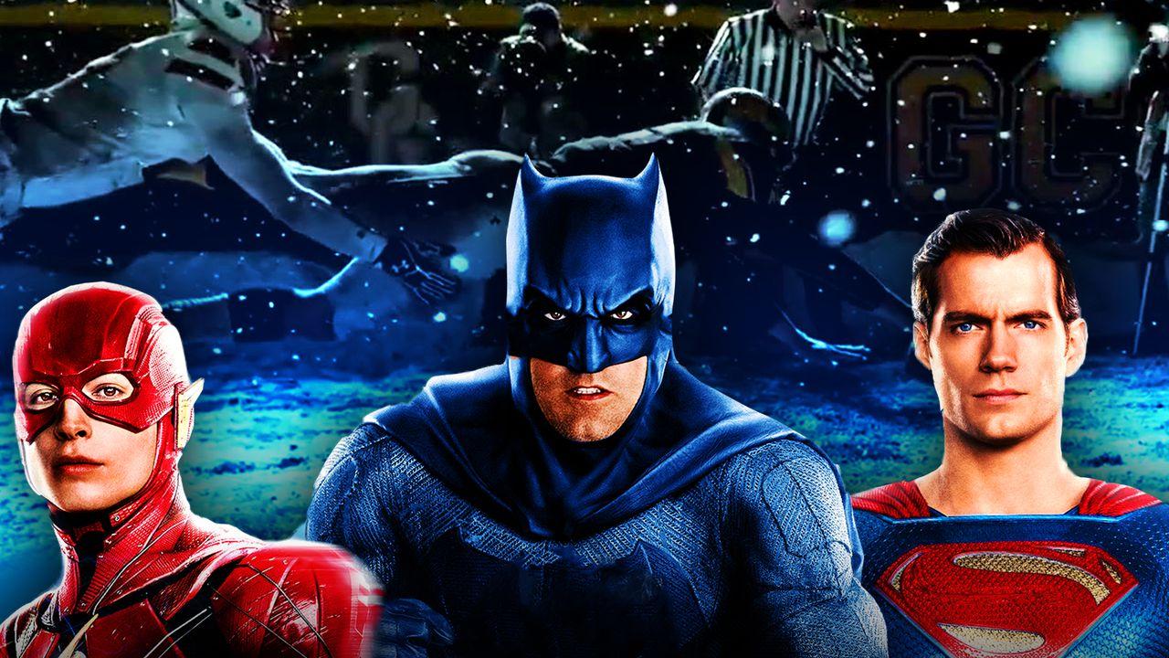 Justice League Flash Batman Superman