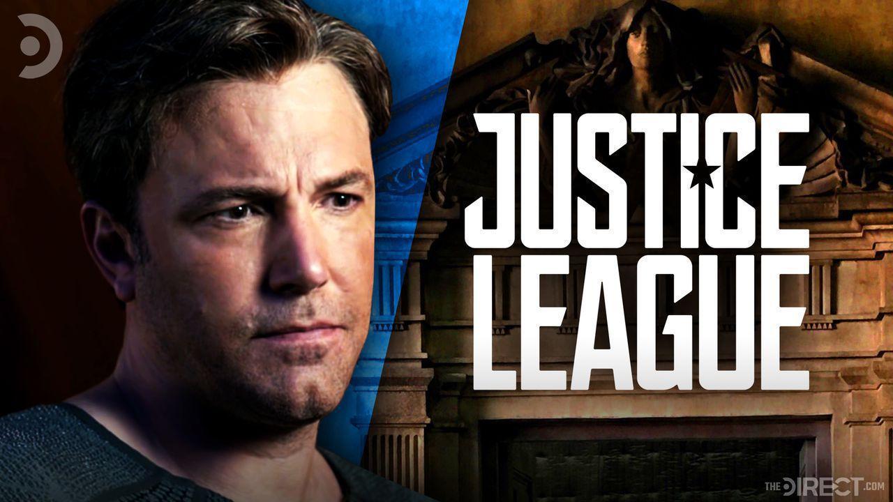Ben Affleck as Bruce Wayne, Justice League Logo, Wayne Manor
