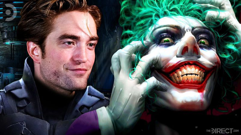 Robert Pattinson's Batman and The Joker
