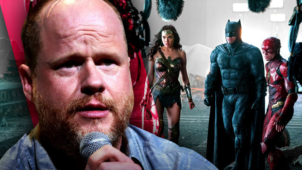 Joss Whedon and Justice League set