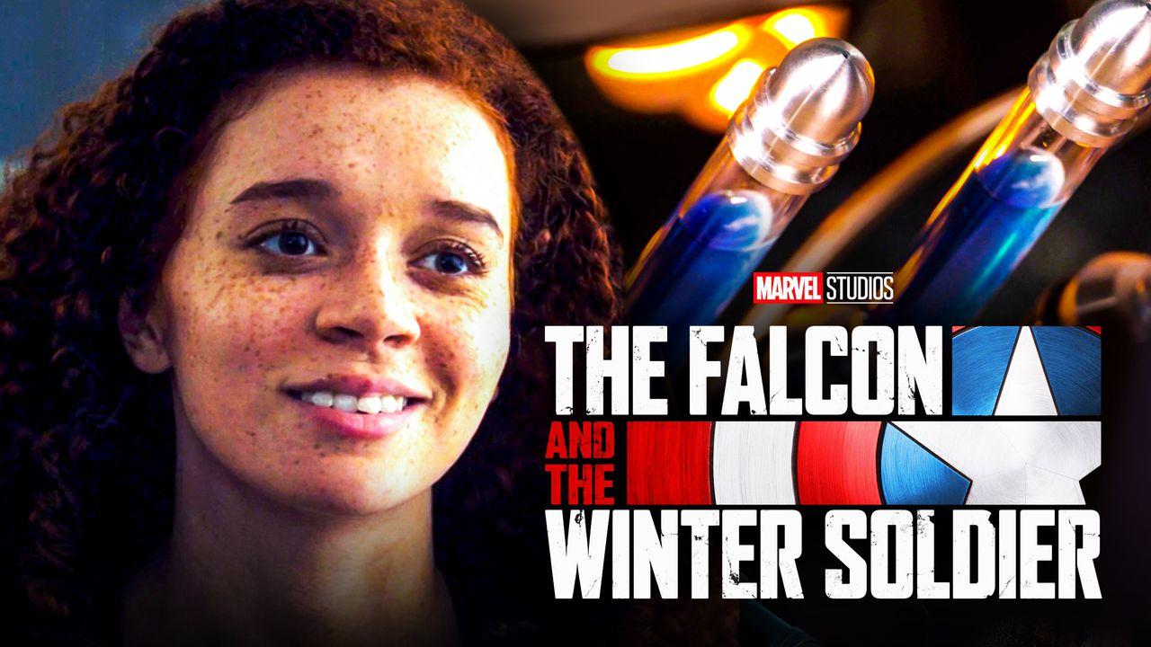 Karli Falcon and Winter Soldier logo