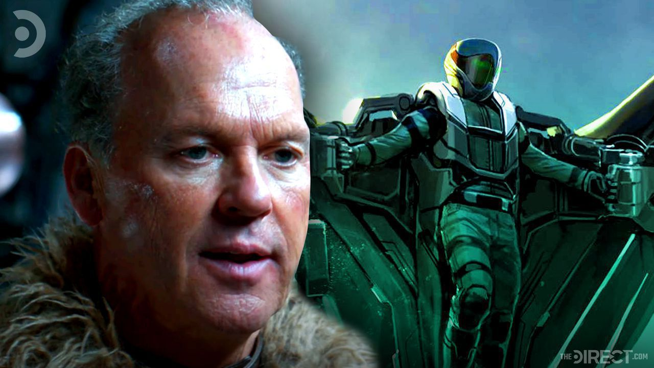 Michael Keaton's Adrian Toomes and Vulutre concept art