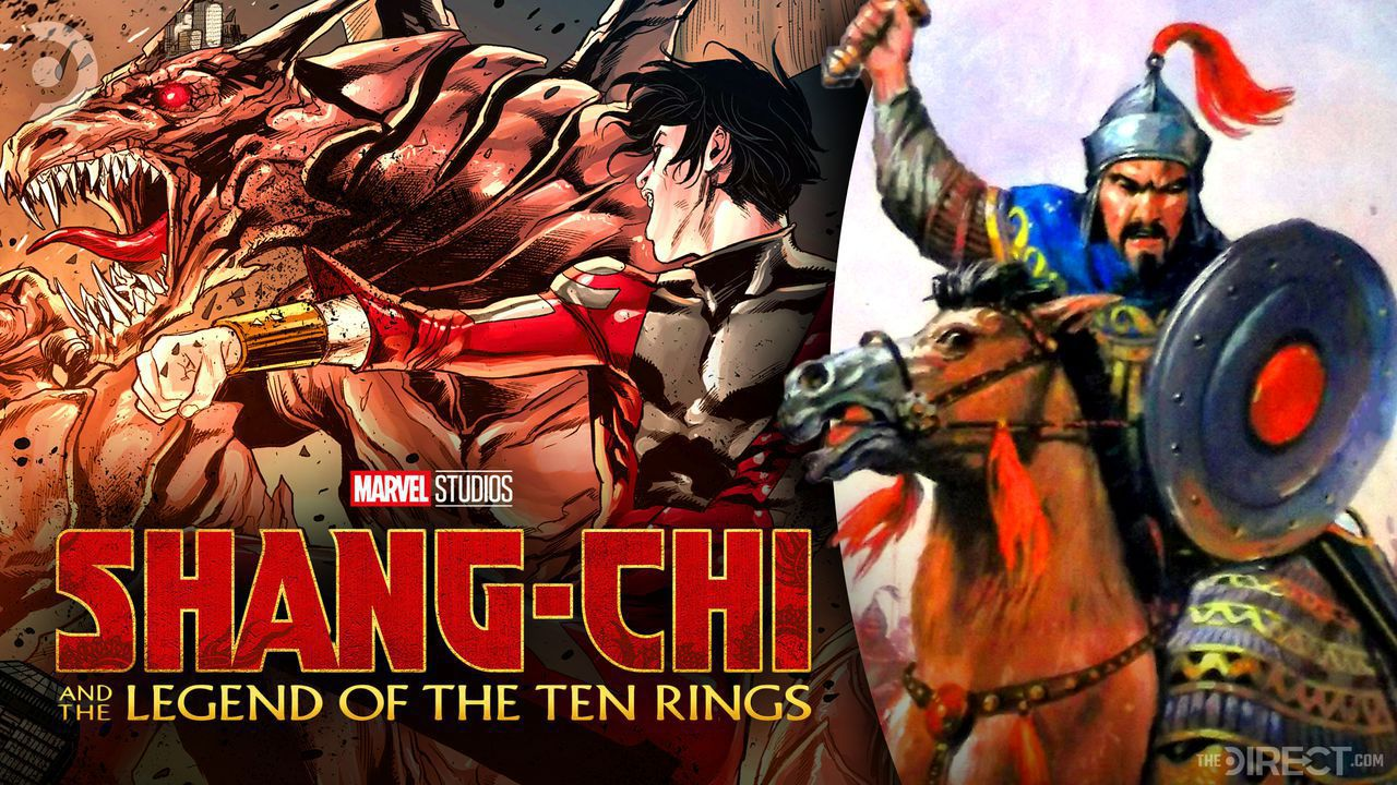 The Mandarin, Genghis Khan, Shang-Chi and the Legend of the Ten Rings Logo