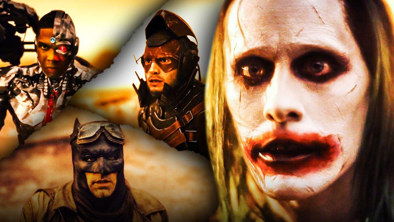 Knightmare; Liga da Justiça de Zack Snyder; Senhor dos Anéis; Mad Max; SnyderVerso