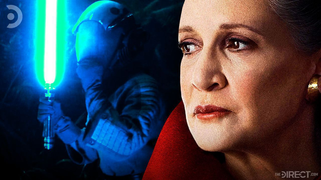 Jedi Knight Leia from the Rise of Skywalker, Carrie Fisher as General Leia Organa