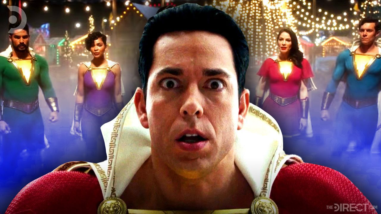 Zachary Levi as Shazam, Shazam family