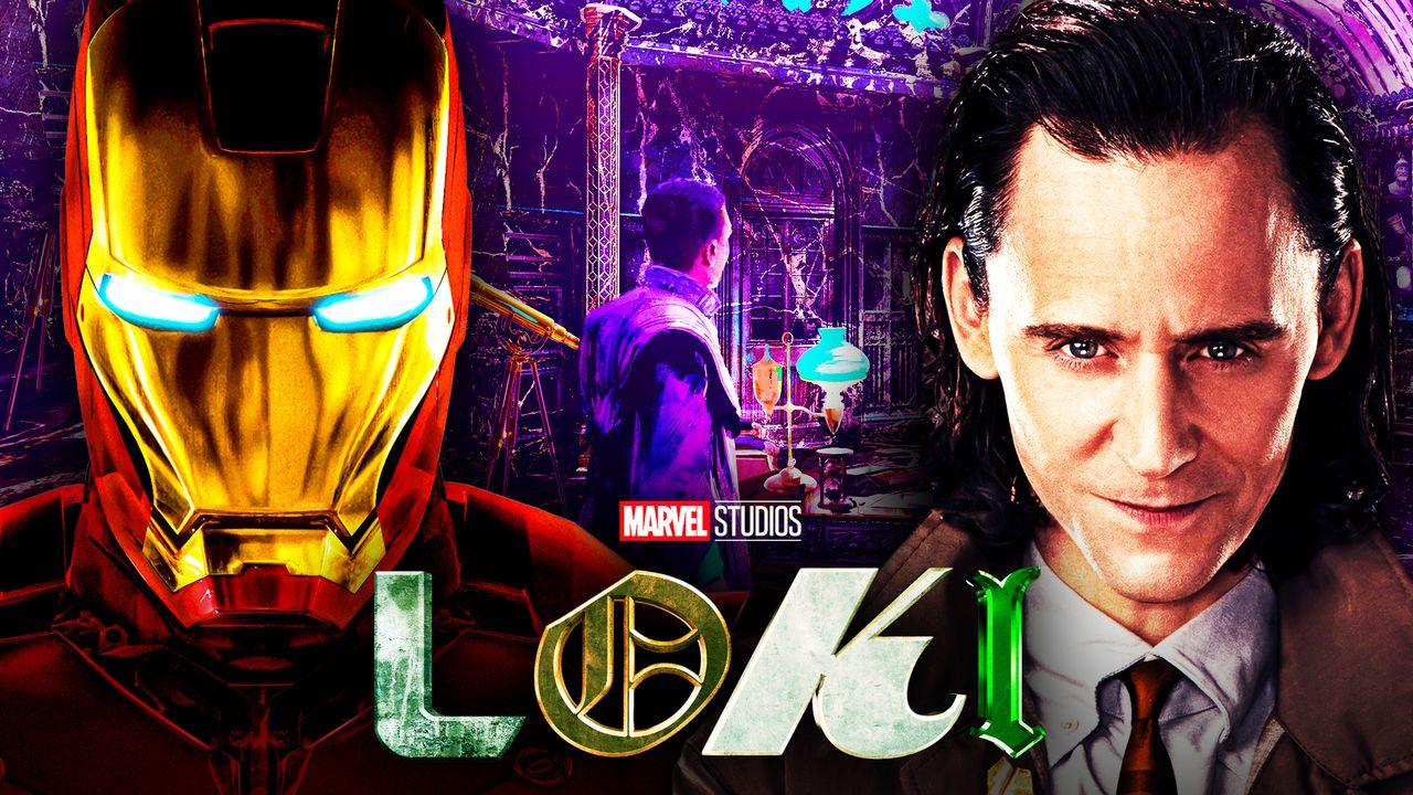 Loki Concept Art Shows Iron Man's Helmet In Finale Location