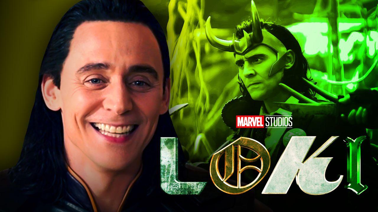 Tom Hiddleston as Loki, Loki logo