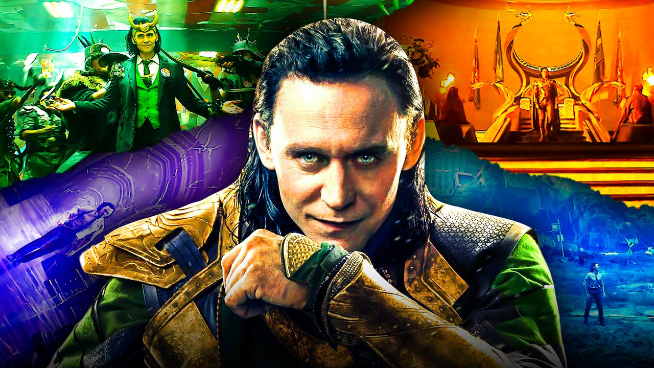Loki Tom Hiddleston Disney Plus Show Scenes