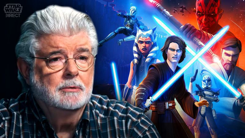 george lucas nice comments for the clone wars final season and dave filoni