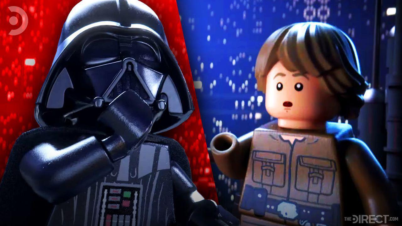 Lego Darth Vader, Luke, Skywalker Saga Video Game