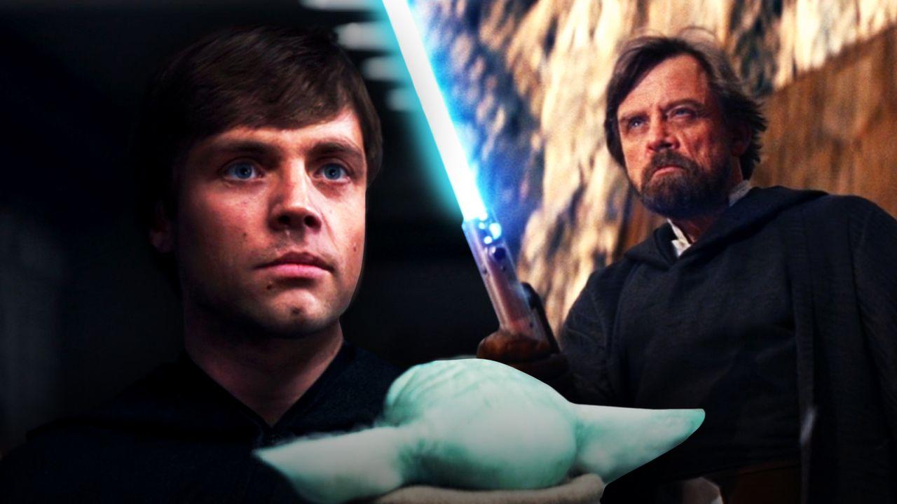 Luke Skywalker in The Mandalorian, The Last Jedi