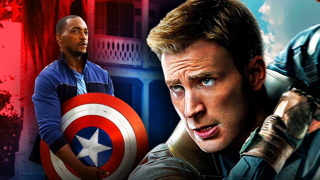 Chris Evans Anthony Mackie Captain America