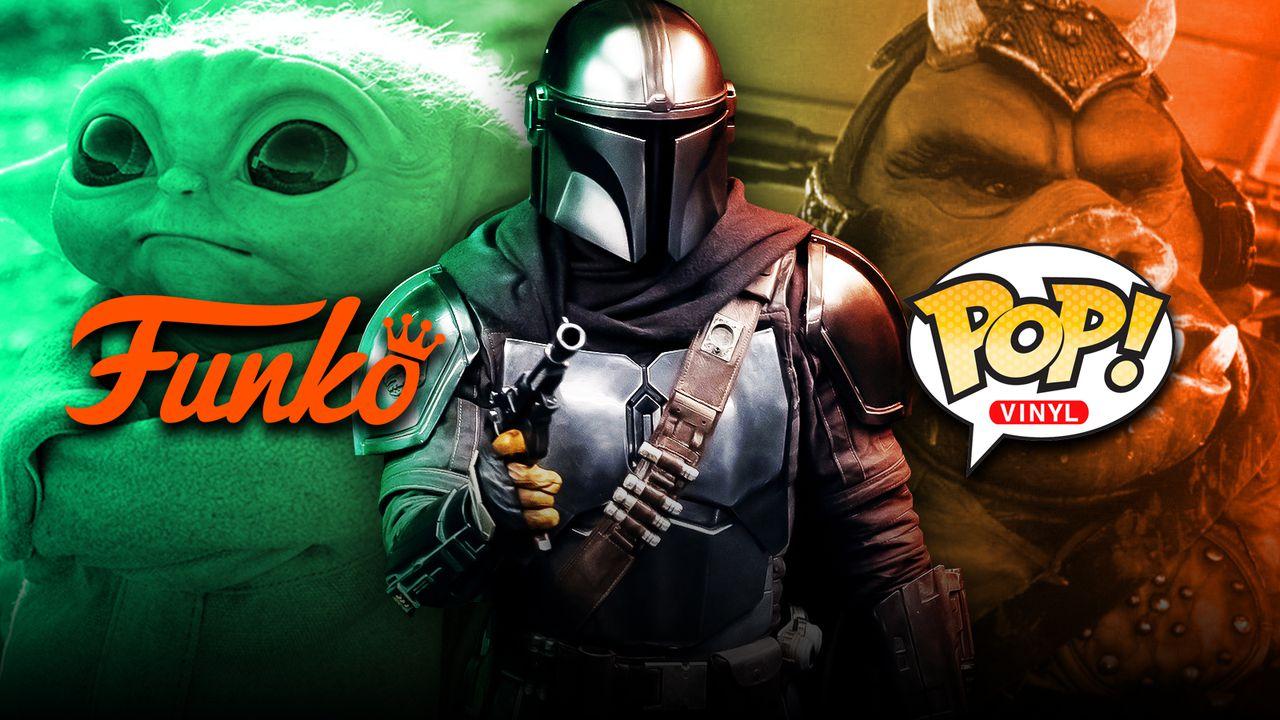 Baby Yoda, Mandalorian, Funko logo