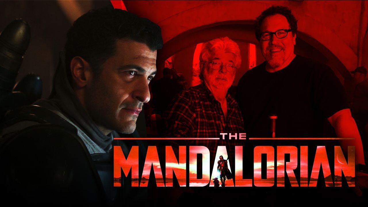 The Mandalorian Season 2, Axe Wolves, George Lucas Jon Favreau