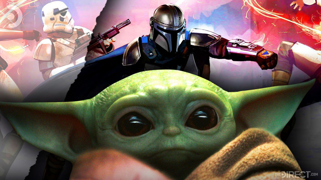 Baby Yoda, The Mandalorian, Stormtrooper