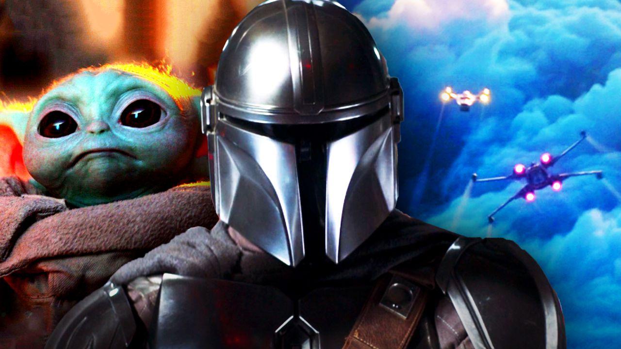 Baby Yoda, Mandalorian, Spaceships