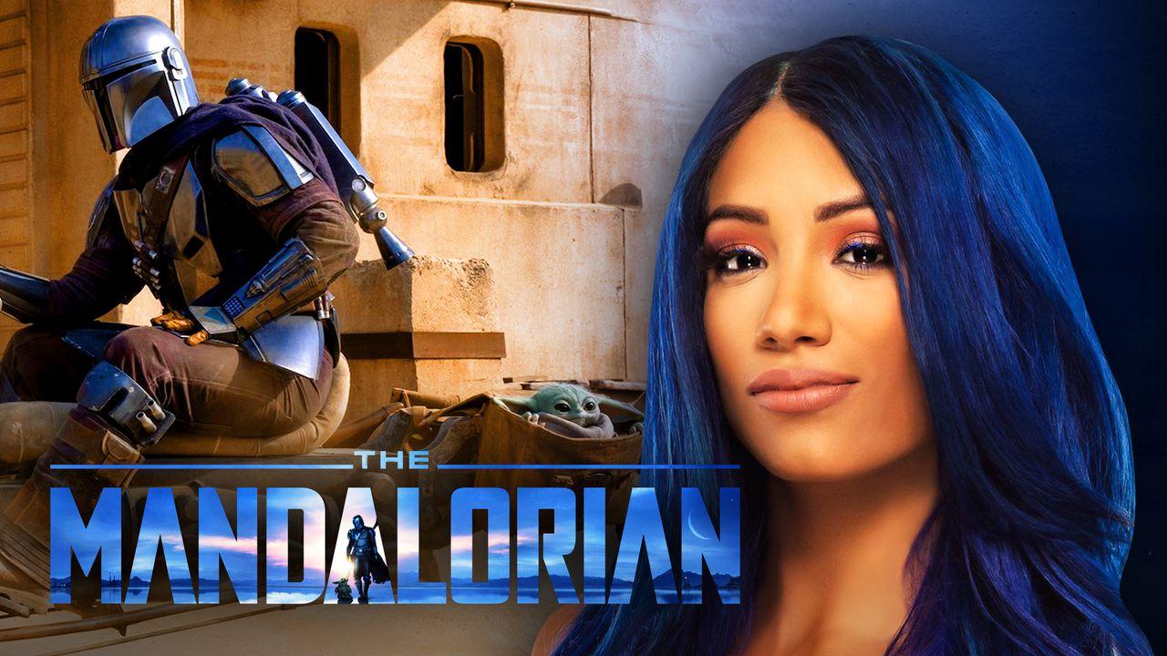 Sasha Banks, The Mandalorian scene