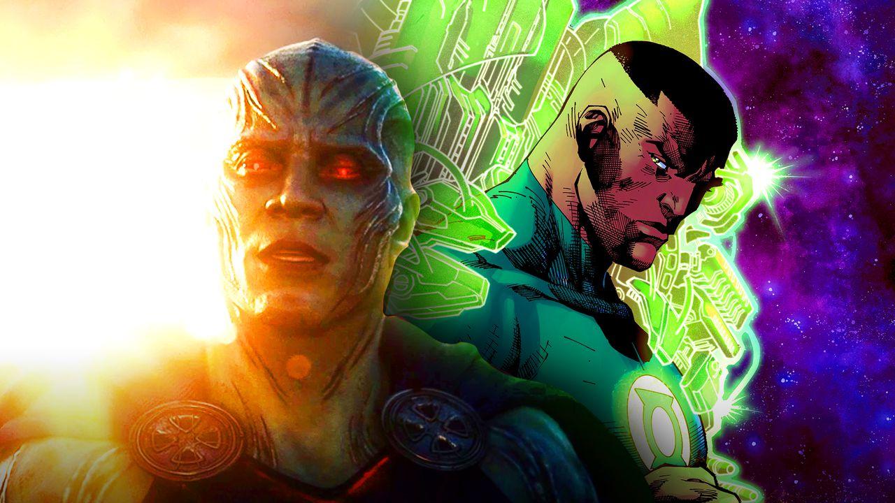 Green Lantern Martian Manhunter