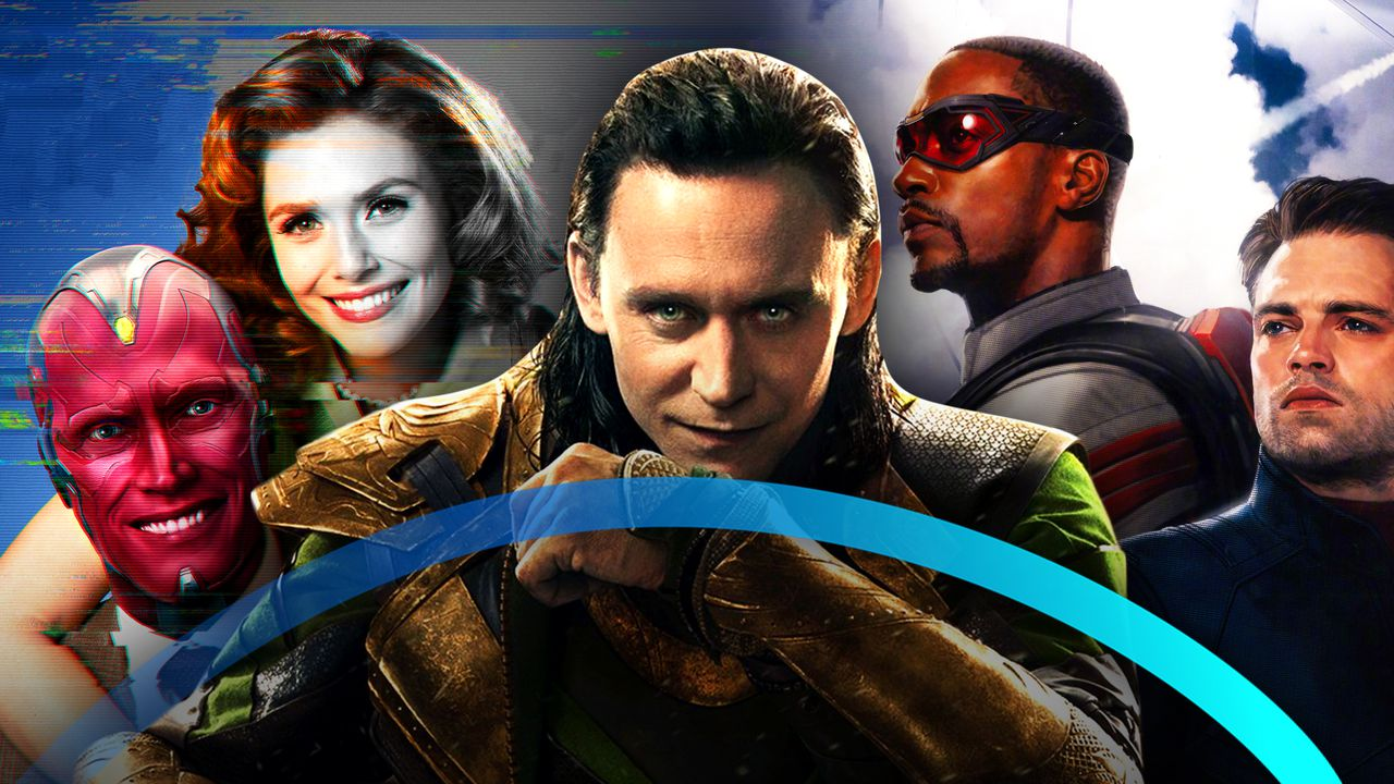 Vision, Wanda, Loki, Falcon, Winter Soldier