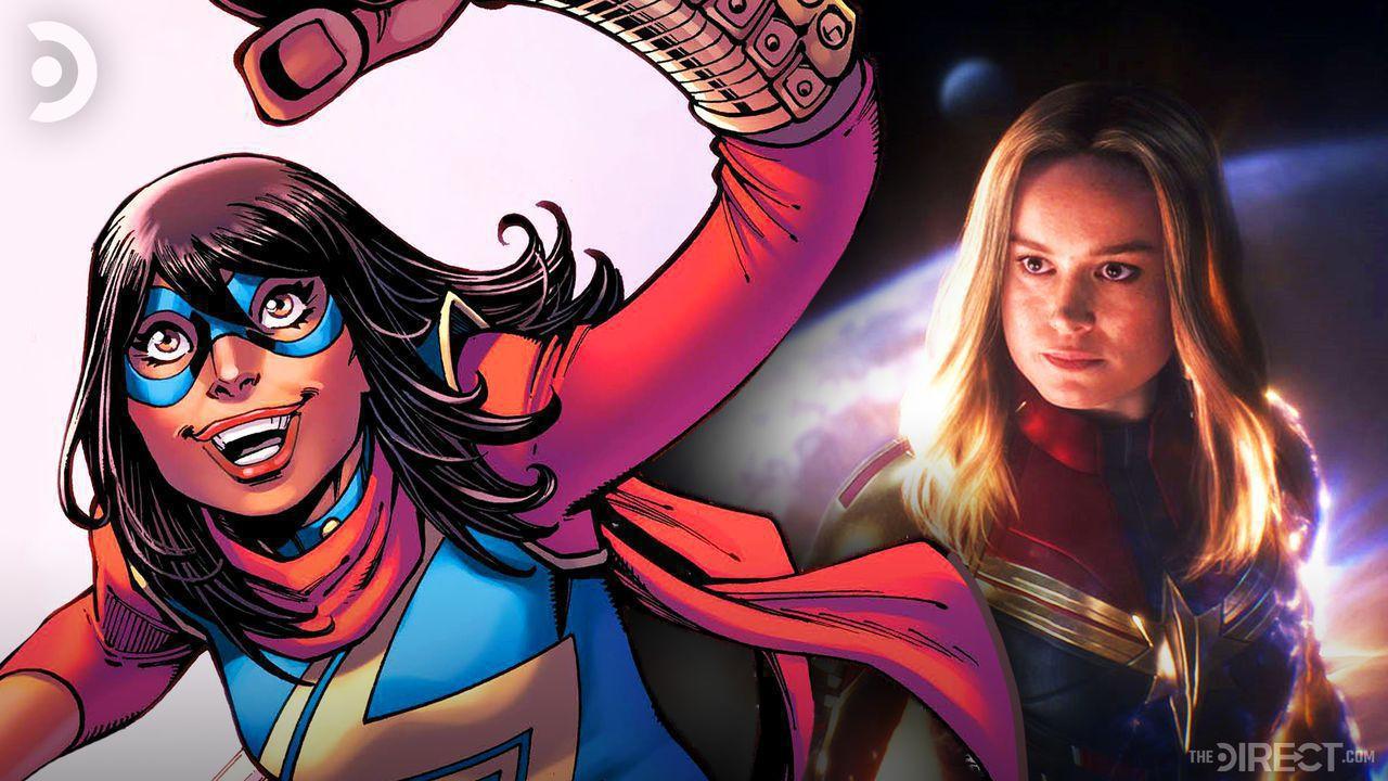 Ms. Marvel, Brie Larson as Captain Marvel