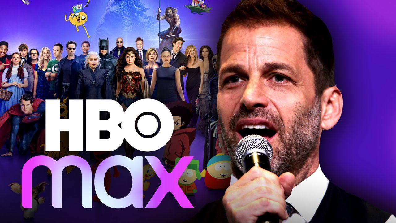 Zack Snyder HBO Max logo