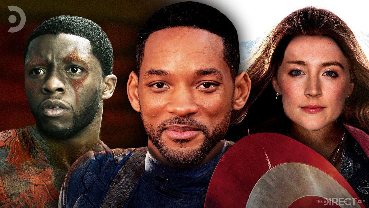 Chadwick Boseman Drx, Will Smith Captain America, Saoirse Ronan Scarlet Witch