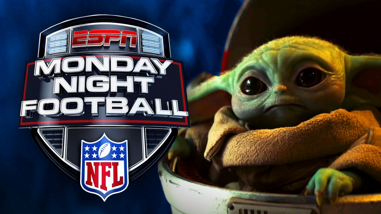 Monday Night Football Logo, Baby Yoda