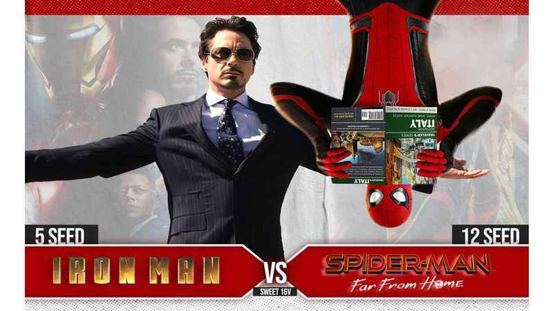 #5 Iron Man vs. #12 Spider-Man: Far From Home