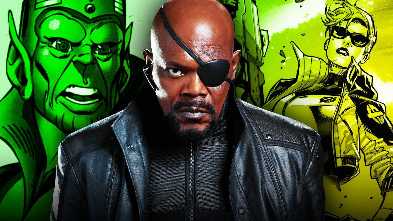 Nick Fury, Skrulls, Secret Invasion