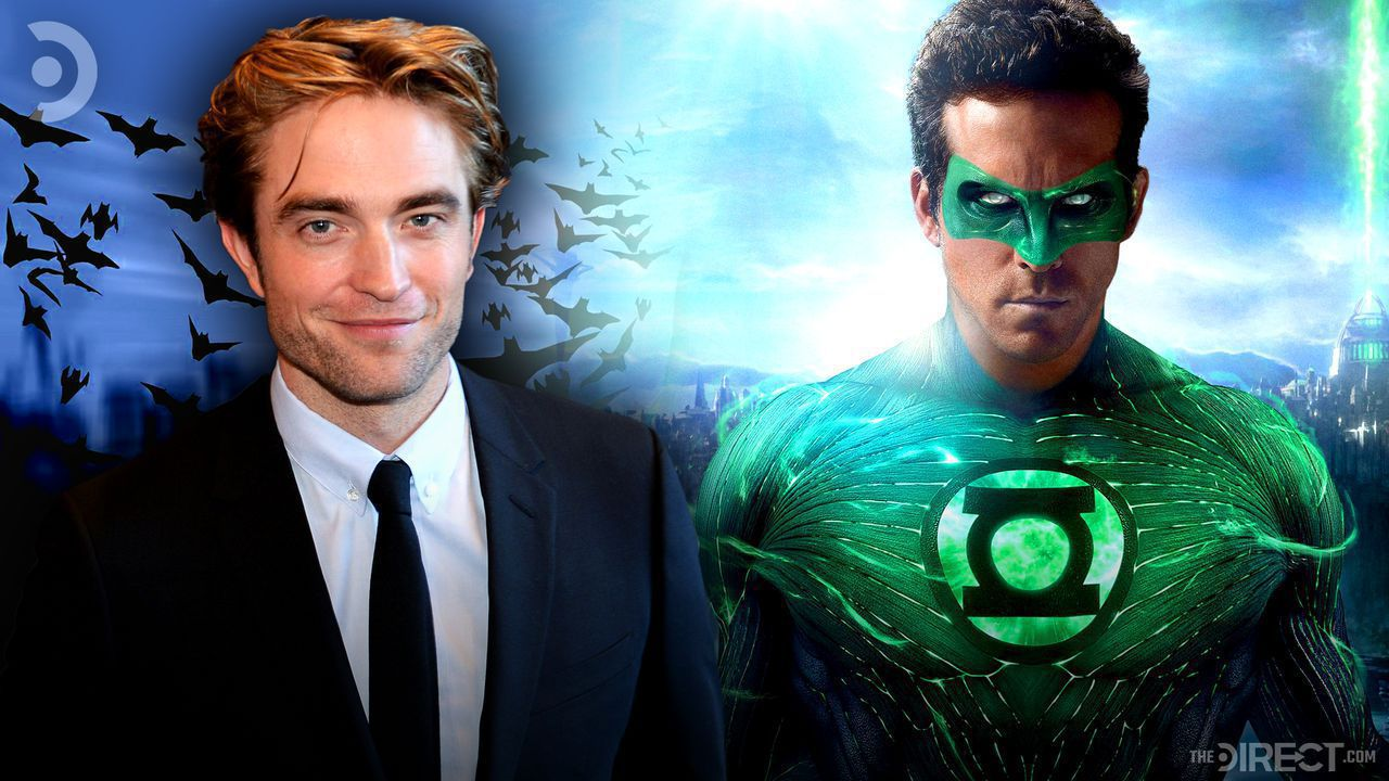 Robert Pattinson and Ryan Reynolds as Green Lantern.