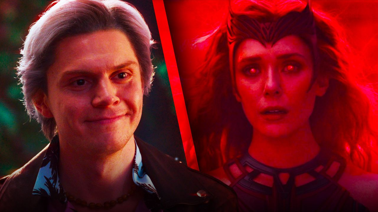 Ralph Bohner and Scarlet Witch