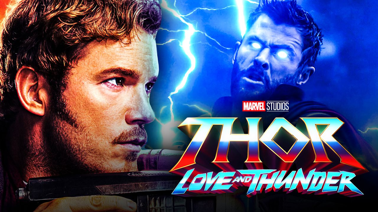 Peter Quill, Star Lord, Thor, Thor: Love and Thunder logo