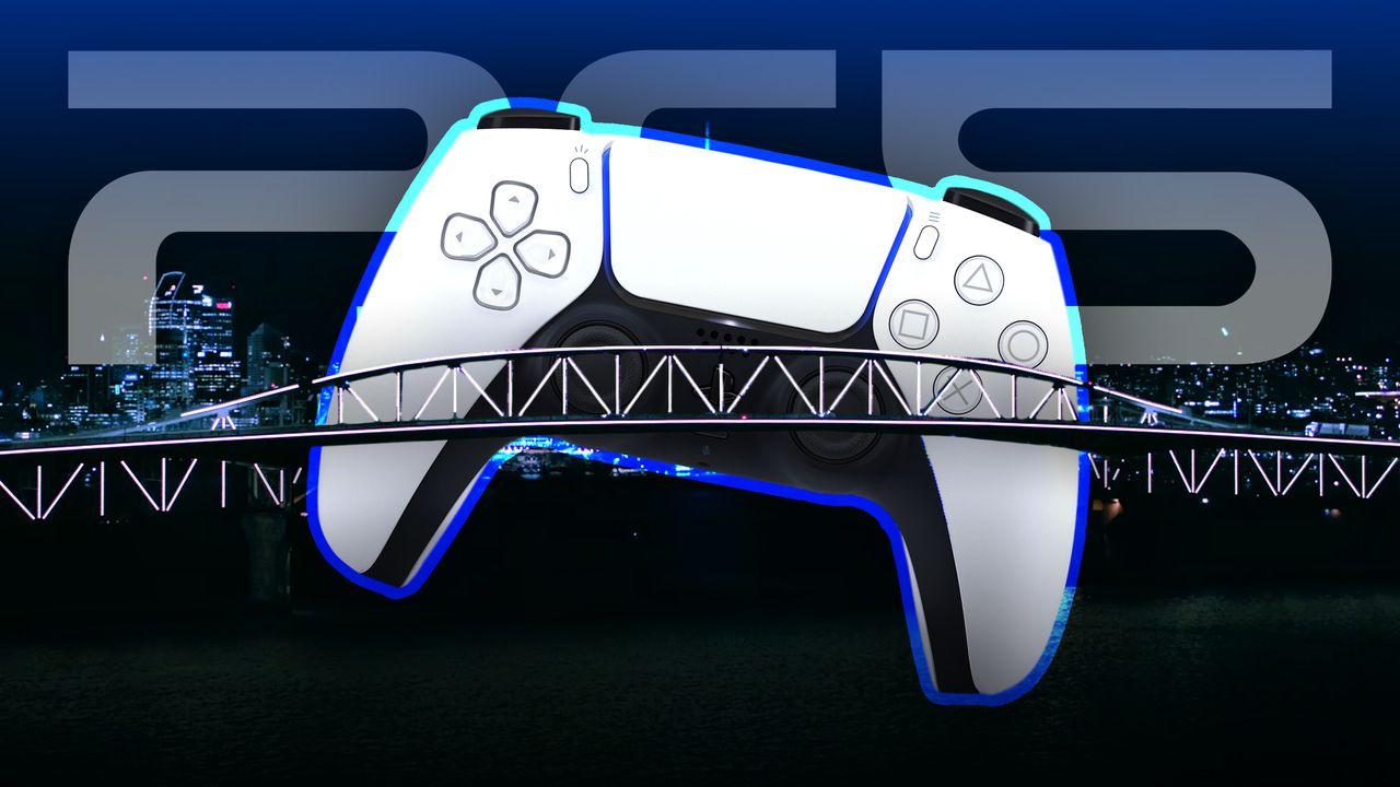 PS5 Dualsense Controller, Cityscape