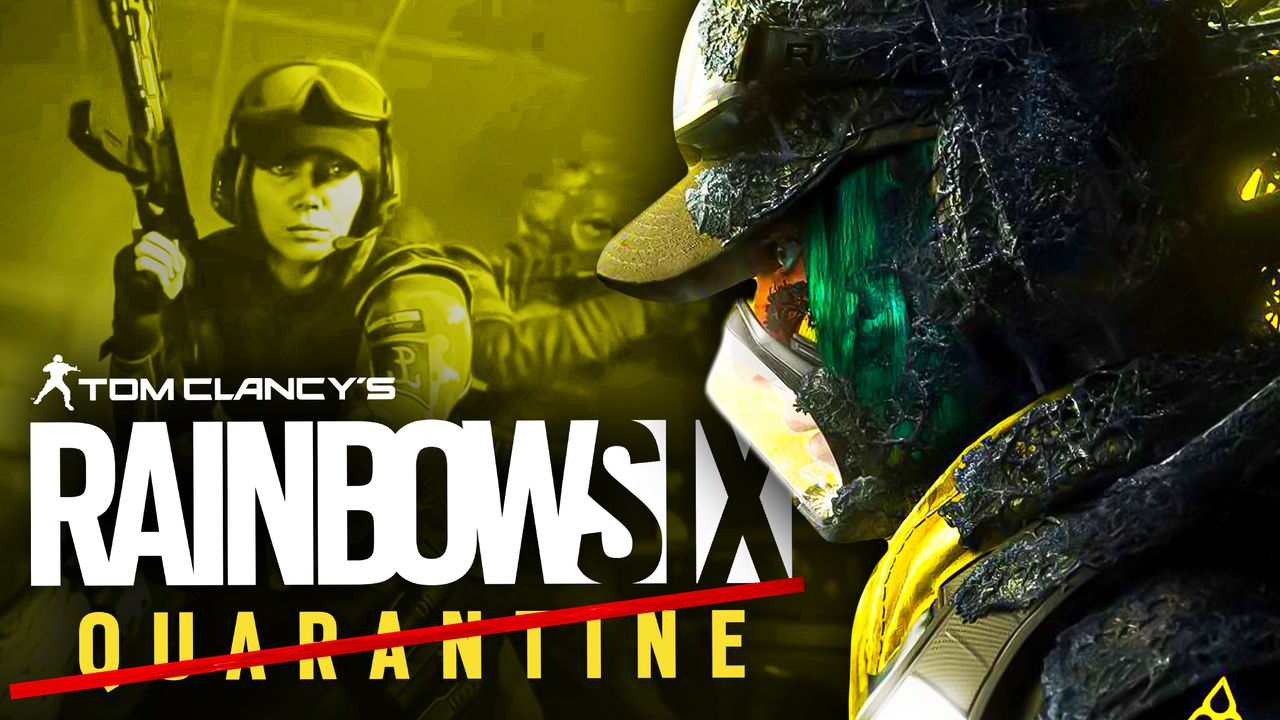 Rainbow Six Quarantine Name Change