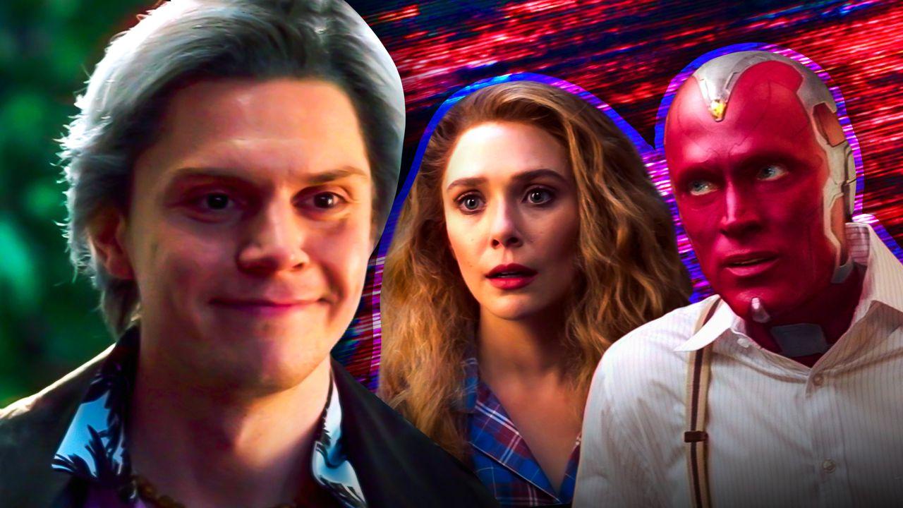 Quicksilver, Wanda, and Vision