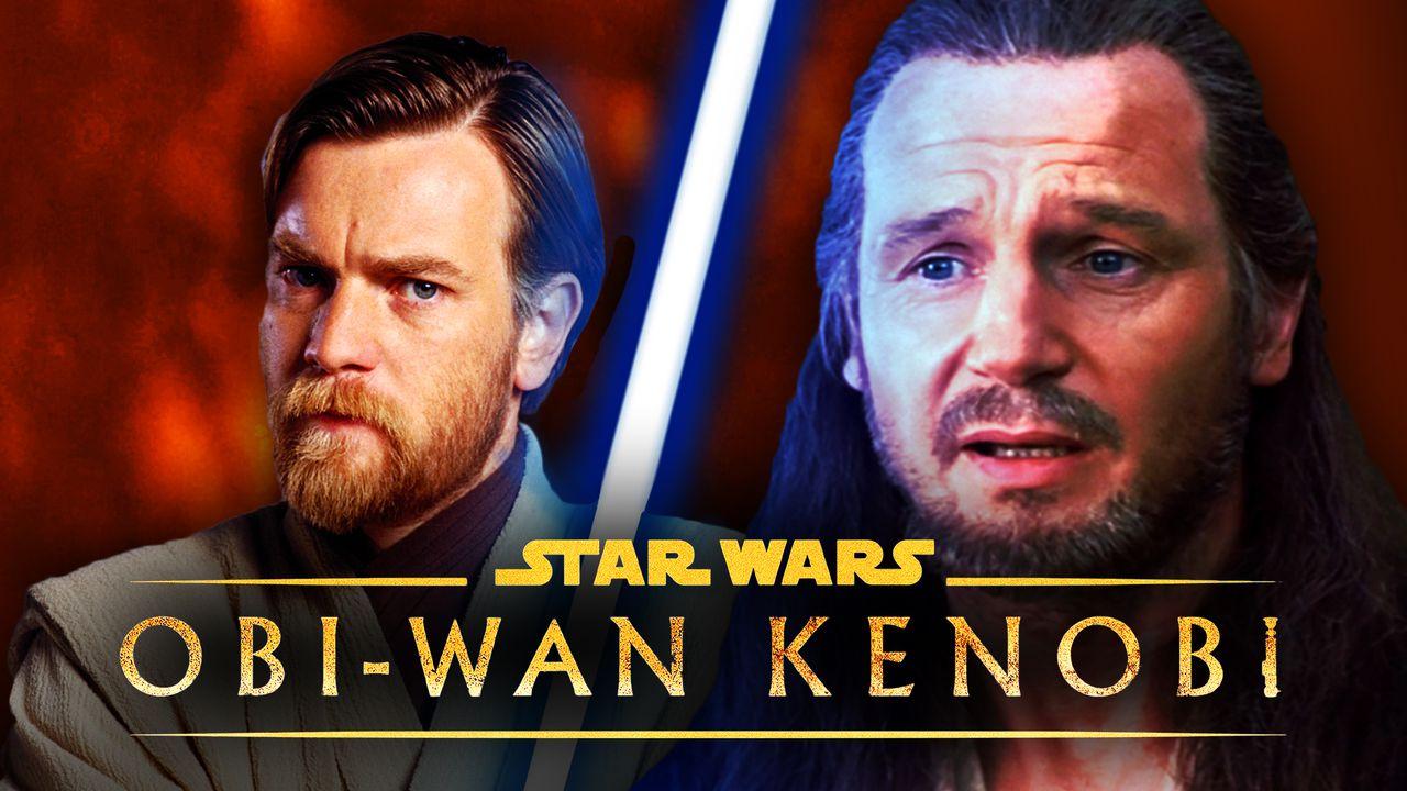 Qui-Gon Ginn and Obi-Wan Kenobi