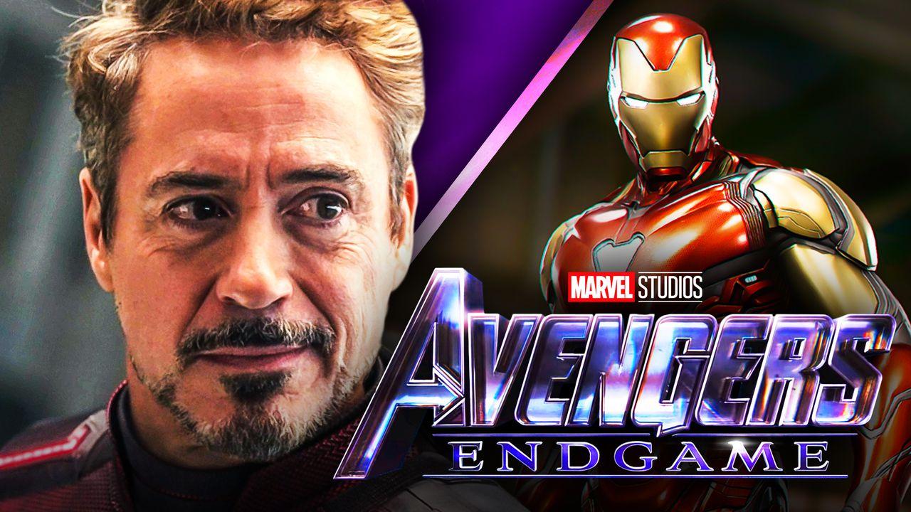 Robert Downey Jr Avengers Endgame Iron Man